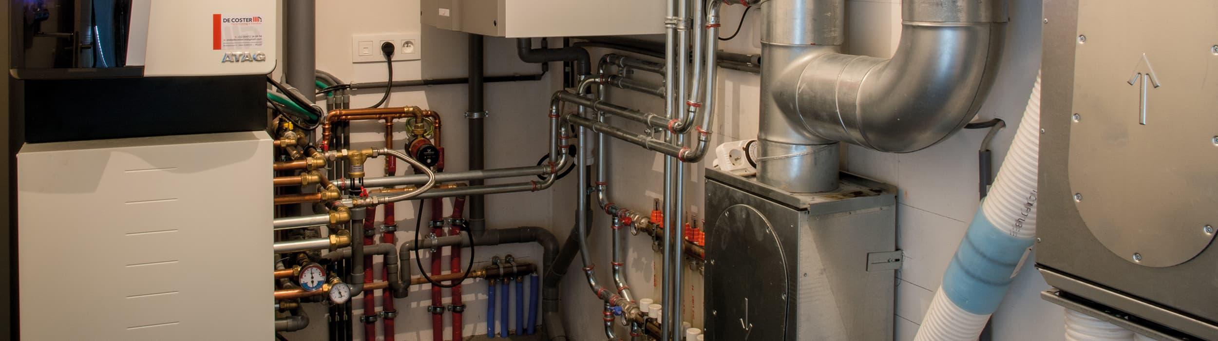 Verwarming, sanitair en Ventilatie van DeCoster Kinrooi